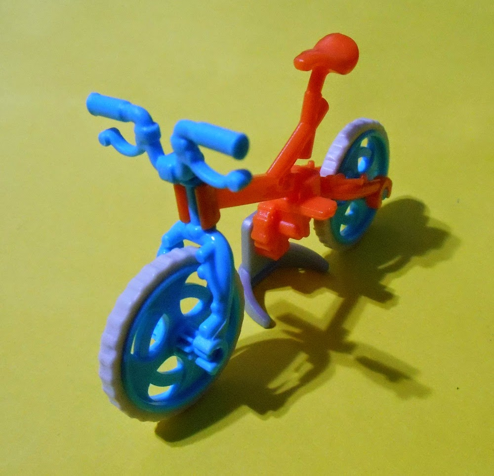 bicicleta regalo de magic kinder