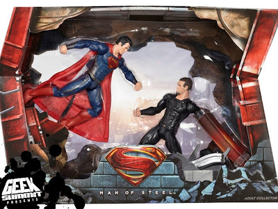 2013 SDCC Man of Steel Exclusive - MattyCollector.com