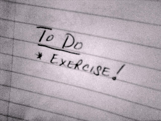 Add exercise to your To Do list!