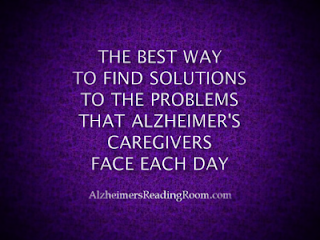 the best way to find solution to the problems that caregiver face each day