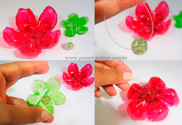 Flor de Garrafa Pet - PAP 06