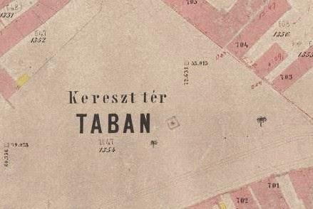 TABÁN TÉRKÉP
