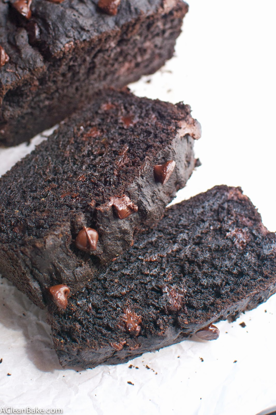 Gluten-Free Double Chocolate Zucchini Bread