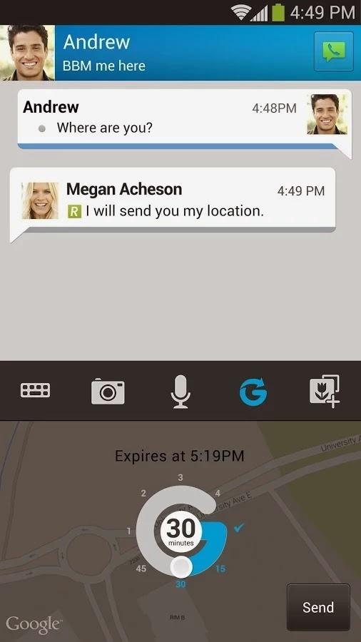 BBM v2.4.0.8 (Blackberry Messenger)