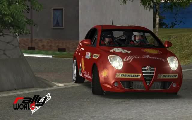 Alfa Romeo Mito Rally rFactor mod