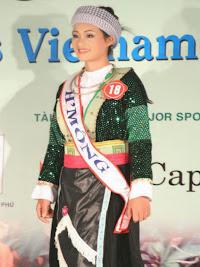 Hmong costumes ethniques du Vietnam Sapa