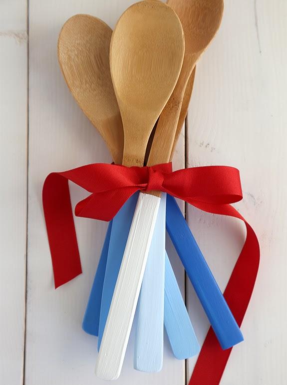 Un paso a paso para decorar cucharas de madera