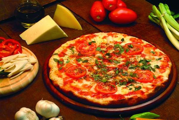 Pizza napolitana bajas carlorías