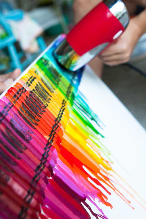 Life with Direction: Painting with Crayons