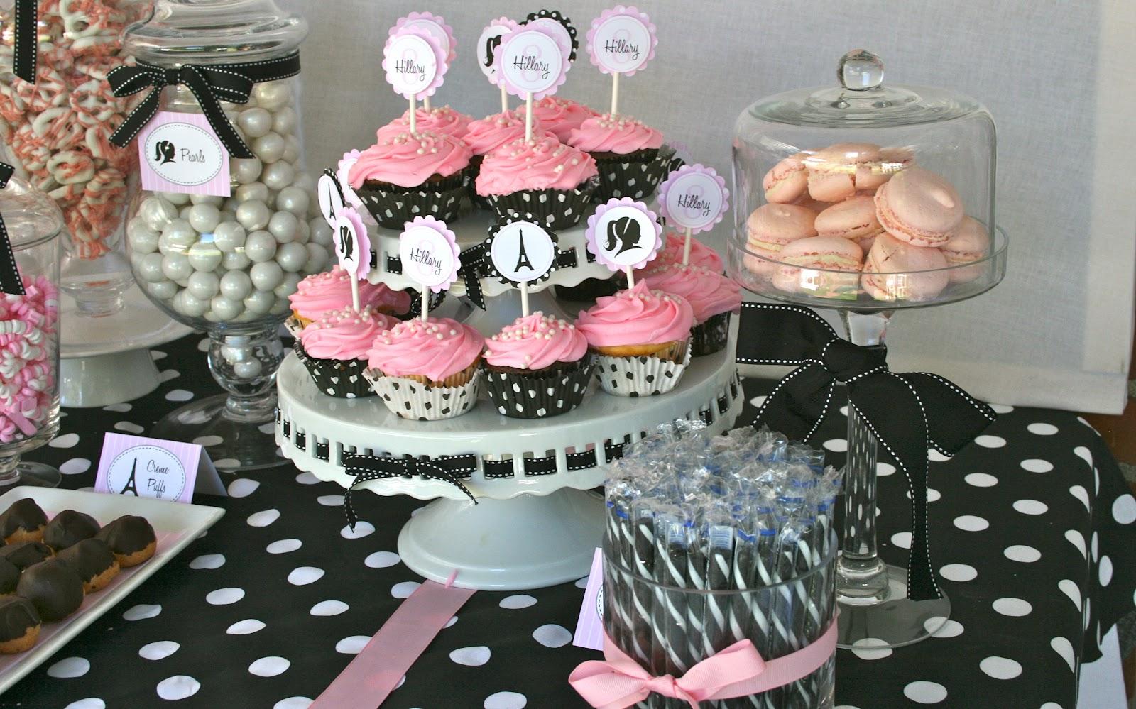 happy birthday paris theme