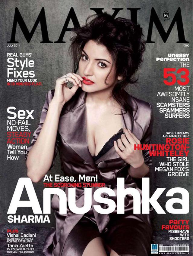 Anushka Sharma Maxim India Photoshoot Pics