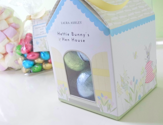 Emilys recipes and reviews uk food blog leicestershire this is hettie bunnys hen house 6 except instead its full of yummy chocolate eggs this would be perfect for a gift or a prize for an easter egg hunt negle Image collections