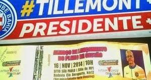 Eleição do Bahia: Eu voto em Tillemont !!!