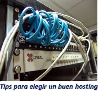 Tips para elegir un buen hosting