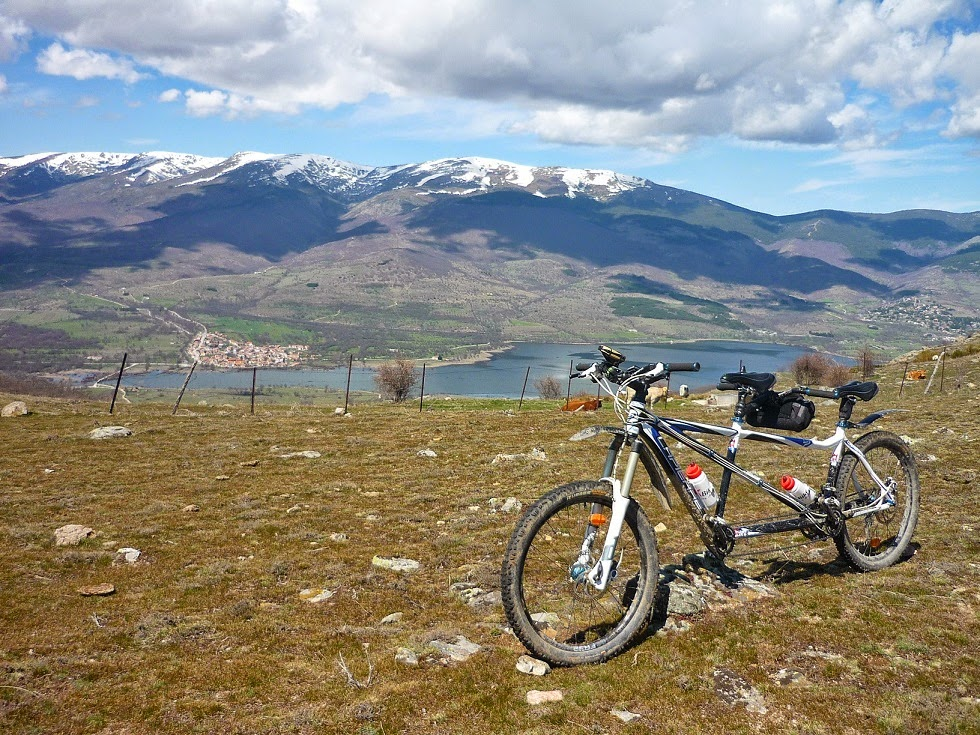 Blog Go Tandem - Vuelta embalse Pinilla