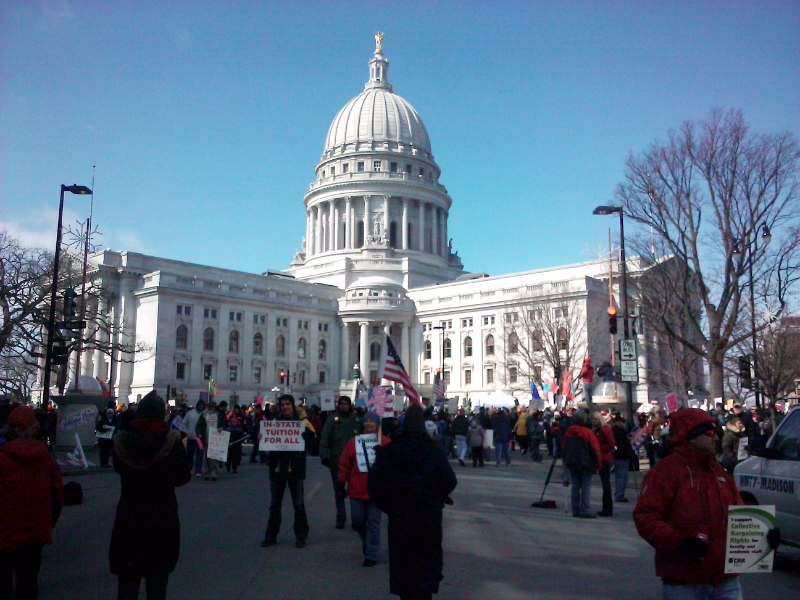 Hispanic news network u s a union busting law gets - Wisconsin legislative reference bureau ...