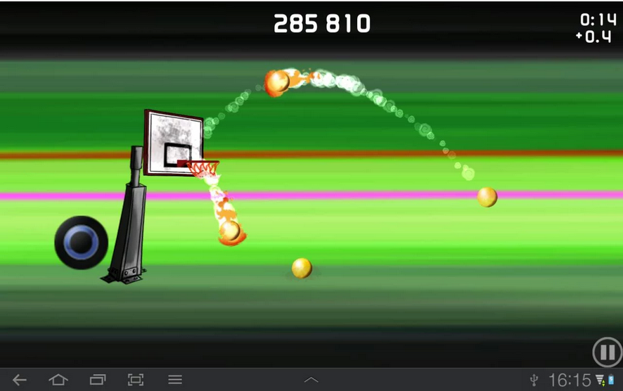 Tip-Off Basketball-Android Multiplayer Game
