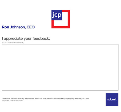 Aug. 6, 2012 JCPenney email