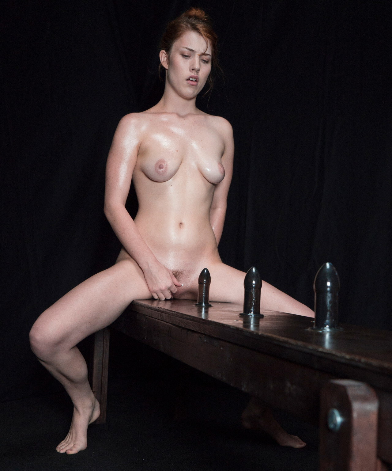 female nude with dildo