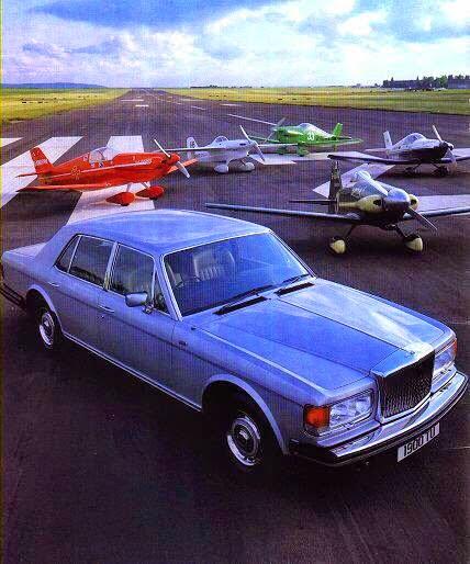 BENTLEY SPOTTING: Bentley Mulsanne Launch Film 1981