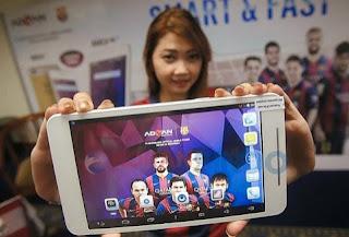 Harga dan Spesifikasi Tablet Advan Barca Tab 7 T1X Terbaru, Murah