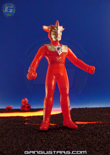 Bandai sofubi Ultraman Leo tokusatsu Japanese monsters hero