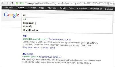 hasil pencarian google yang unik