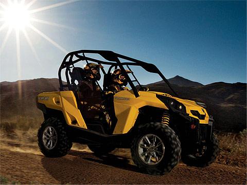 2013 Can-Am Commander 1000 DPS ATV pictures. 480x360 pixels