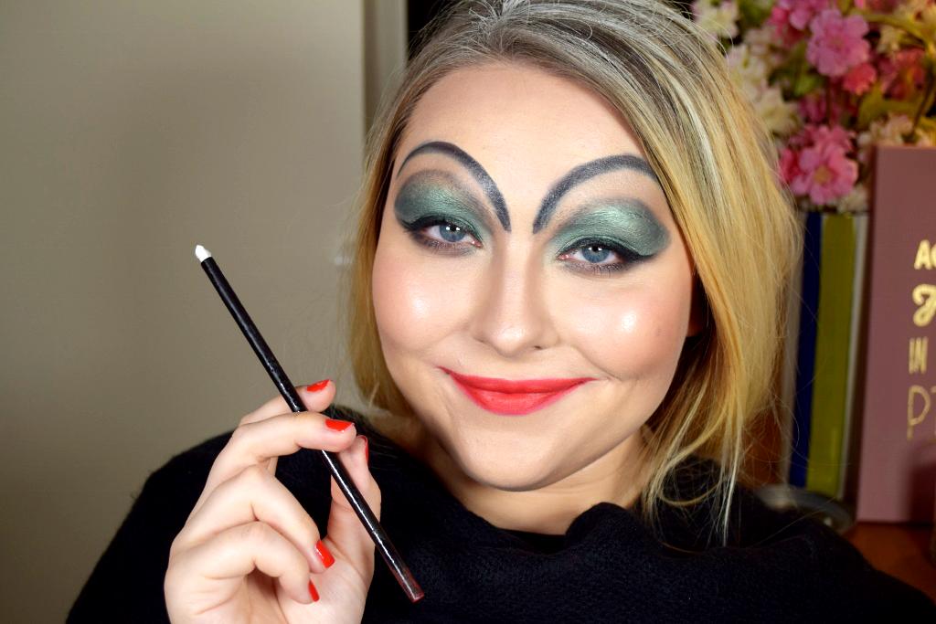 cruella de vil halloween makeup tutorial