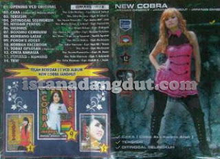 tobat oplosan, oplosan 2, dewi permatasari, new cobra, new cobra vol 12, cover album new cobra 2013