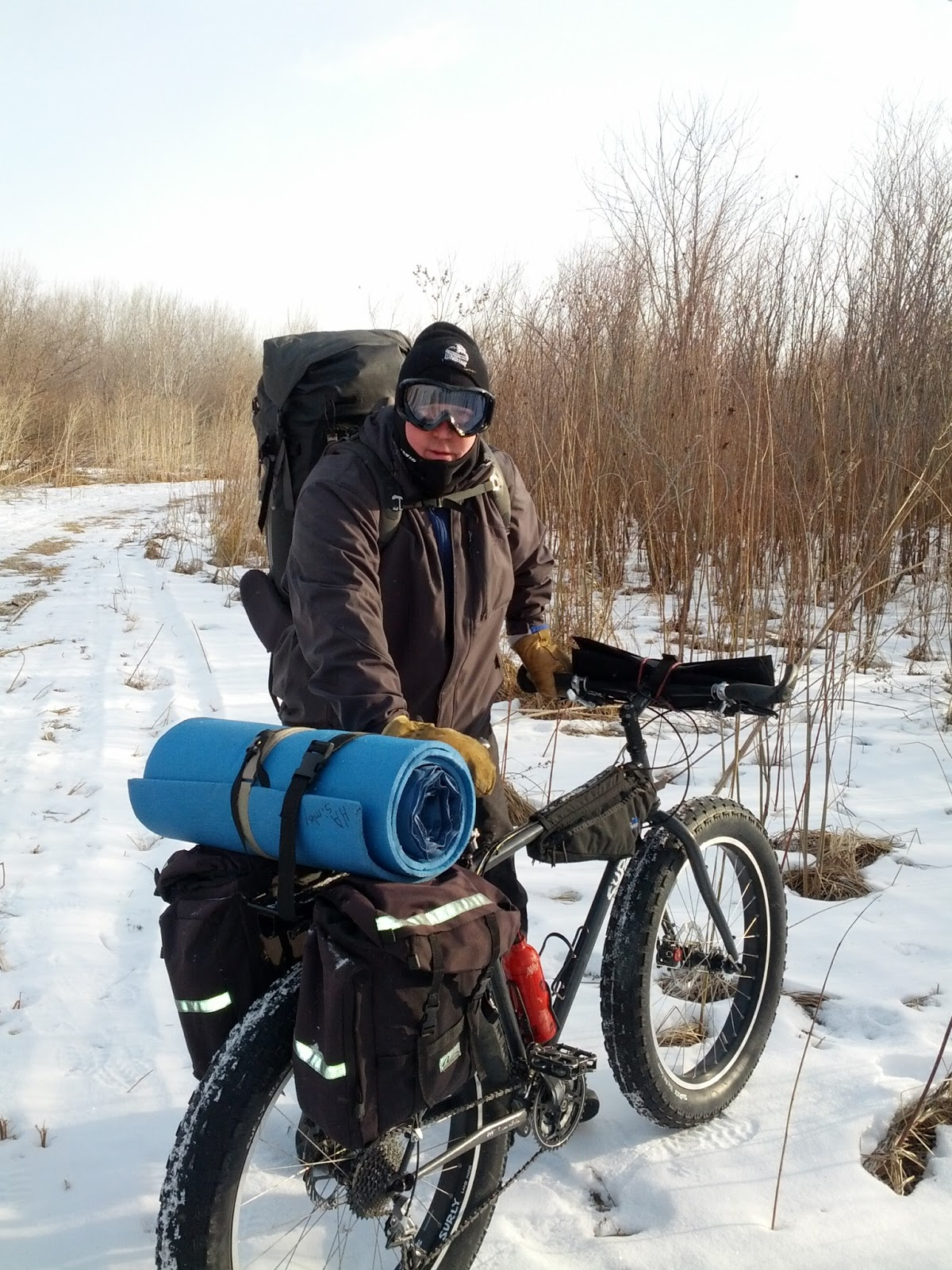 Heathstroke Winter Bike Packing Comfort In The Cold