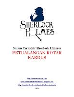 sherlock holmes indonesia Download ebook pdf salam terakhir Sherlock Holmes his last bow Petualangan kotak kardus cardboard box gratis