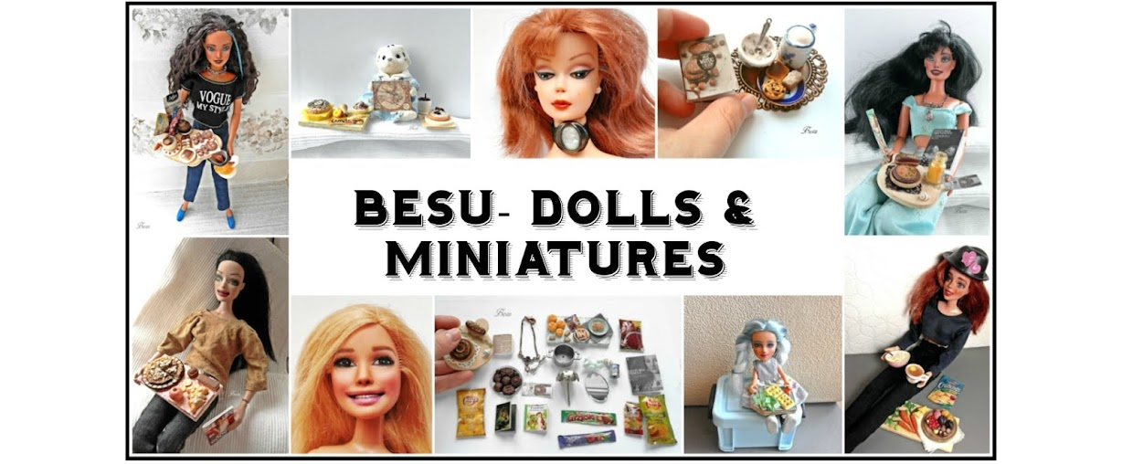 Dolls and miniatures by Besu