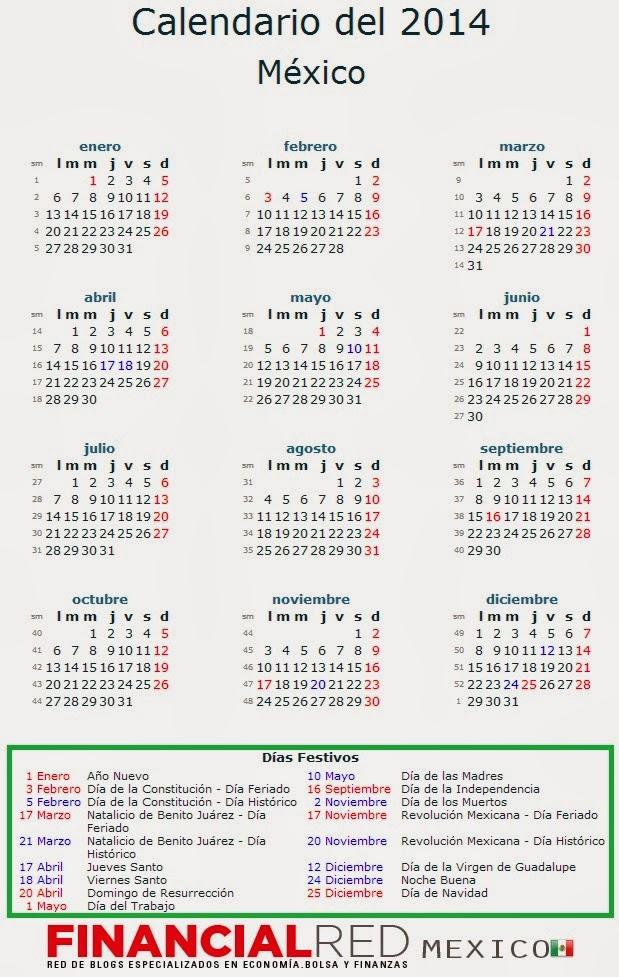 Calendario 2016 Dias Festivos Imss | Calendar Template 2016