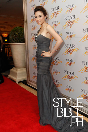 Philippine Celebrities in Lovely Gowns: Toni Gonzaga