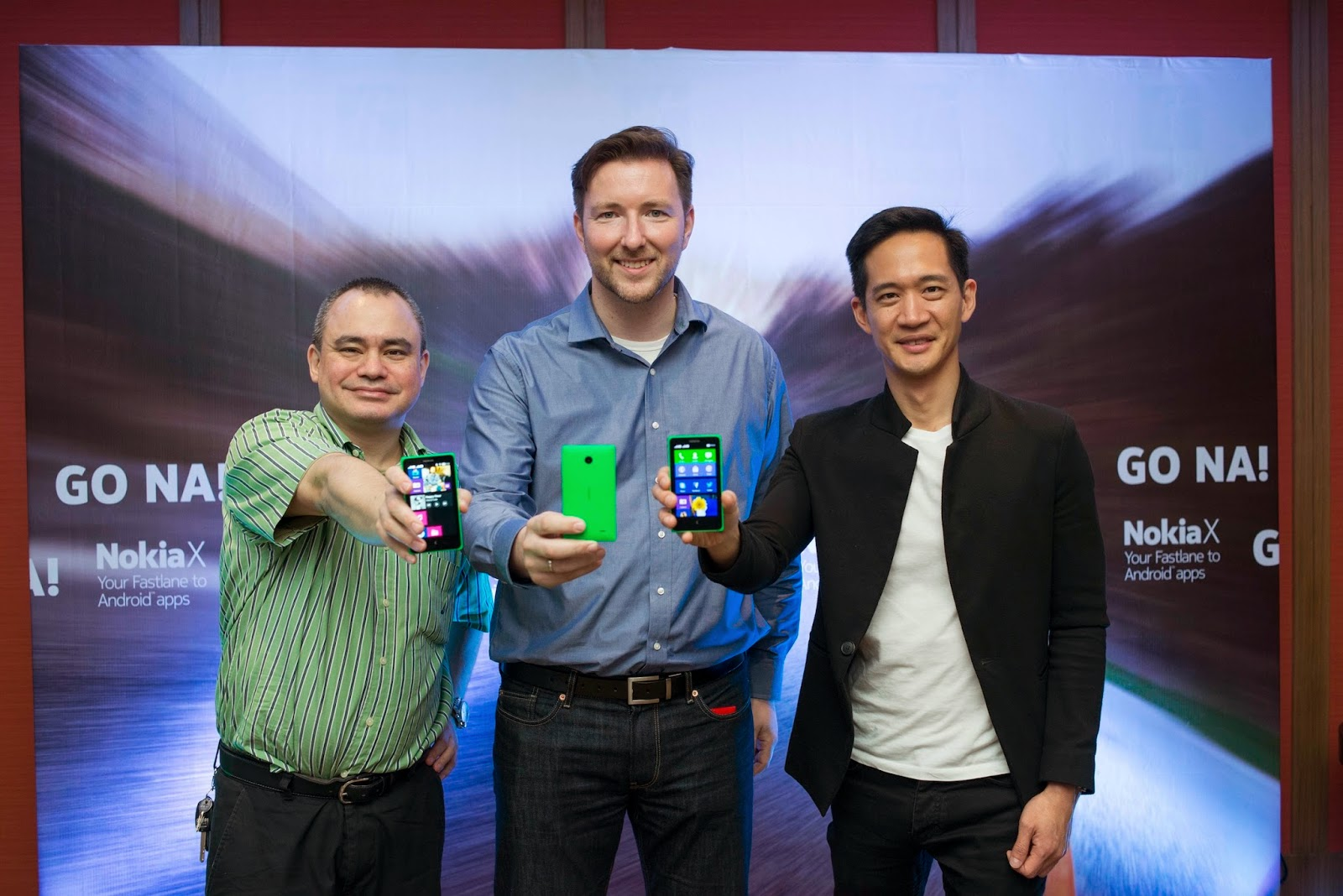 Nokia Philippines General Manager Karel Holub Nokia Head of Pan Asia Gary Chan