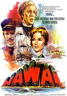 Hawaii (1966) Julie Andrews, Max von Sydow, Richard Harris