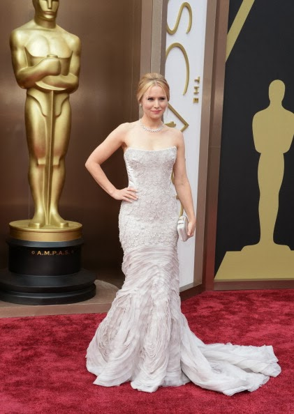Kristen Bell Academy Awards 2014 Red Carpet Oscars Celebrity Melanie.Ps blogger Toronto The Purple Scarf