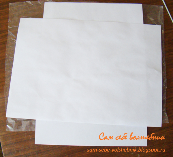 Винтажная рамочка, плетенная из бумаги