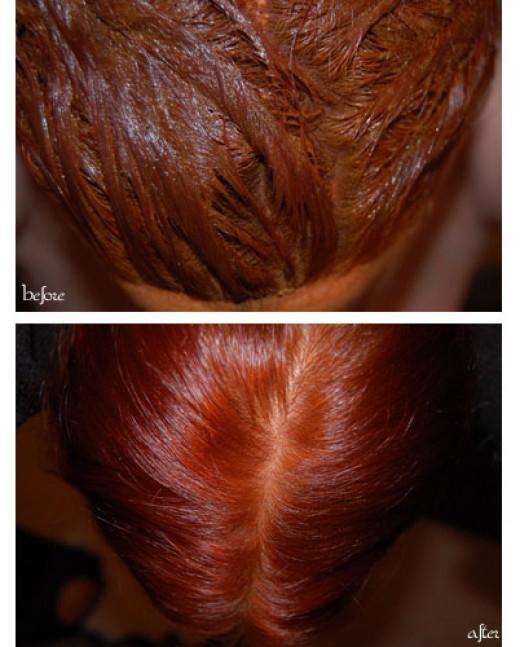 Mehndi For Hair In : Henna designs hair color photos
