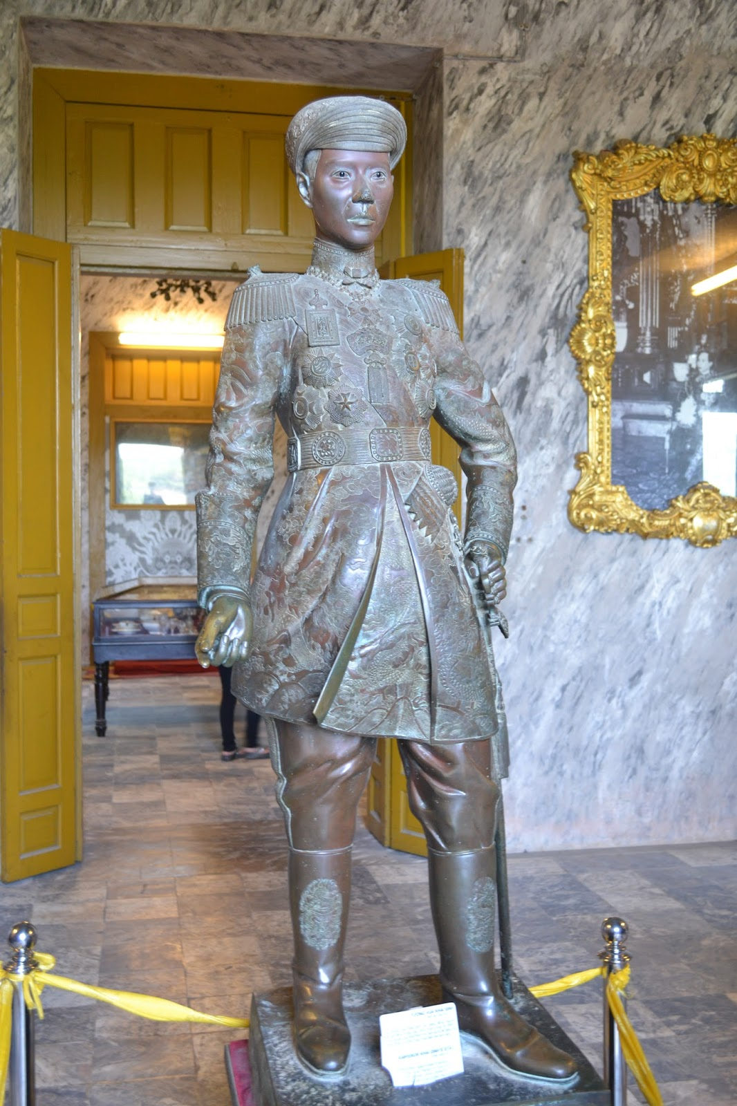 Portrait of Khai Dinh , Hue