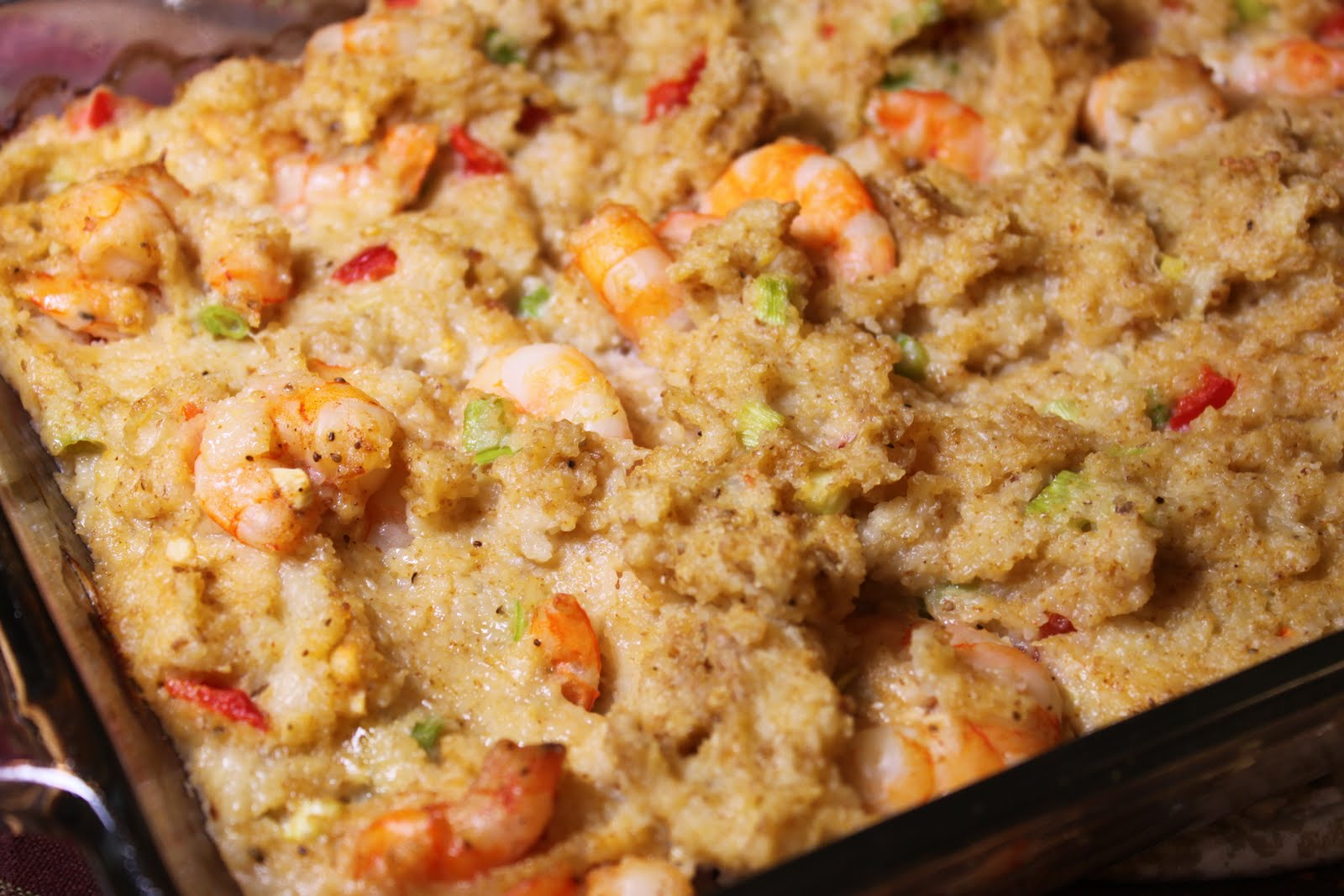 ... Life: Shrimp and Grits Dressing: My New Thanksgiving Tradition