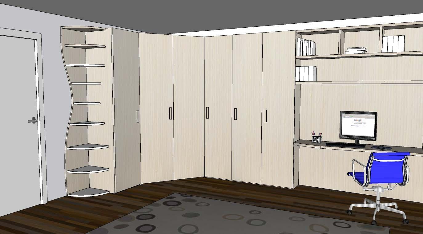 Progetto armadio ad angolo for Mobile per cameretta