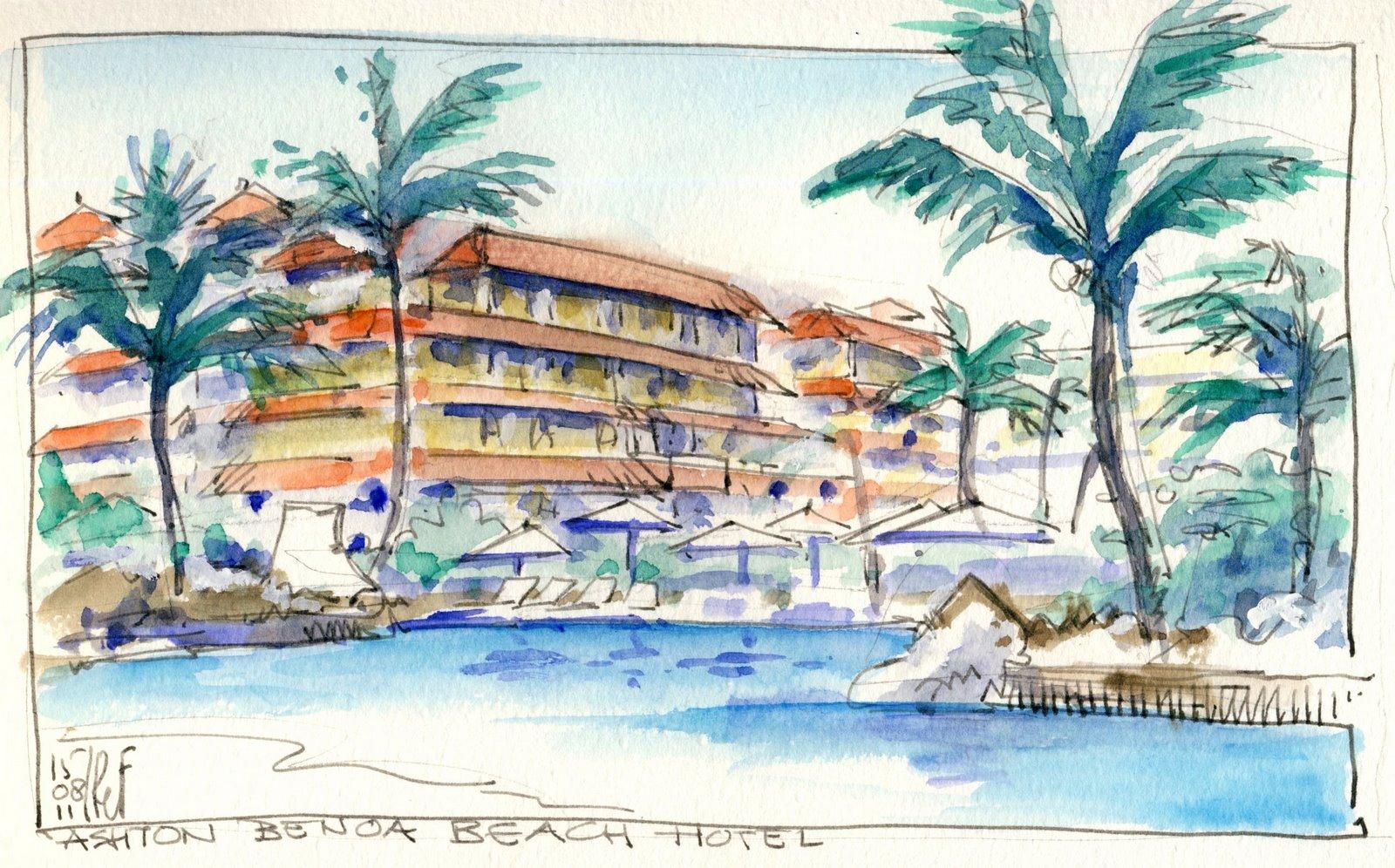 Rene fijten sketches september 2011 for Swimming pool sketch