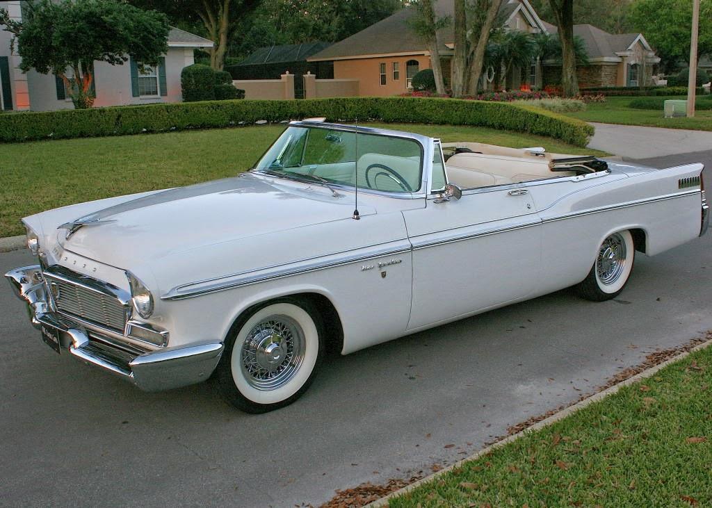 New 300 Chrysler 2016 >> All American Classic Cars: 1956 Chrysler New Yorker 2-Door Convertible