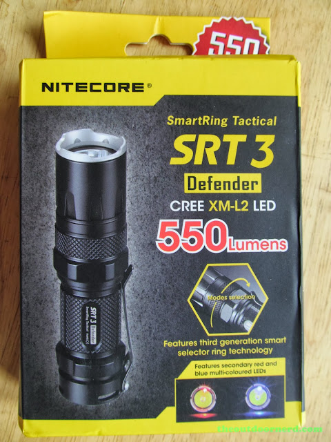 Nitecore SRT3 Defender EDC Flashlight: New In Box