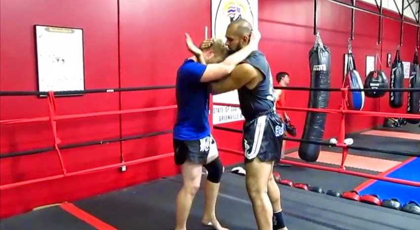 Proper Clinch work is essential for any MMA or Muay Thai fighter