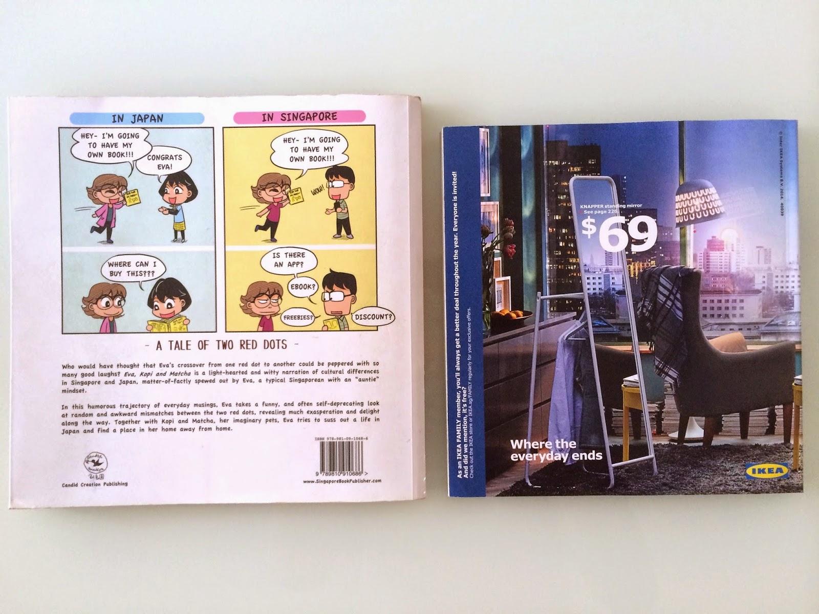 Evacomics comicbookbook™ VS Ikea bookbook