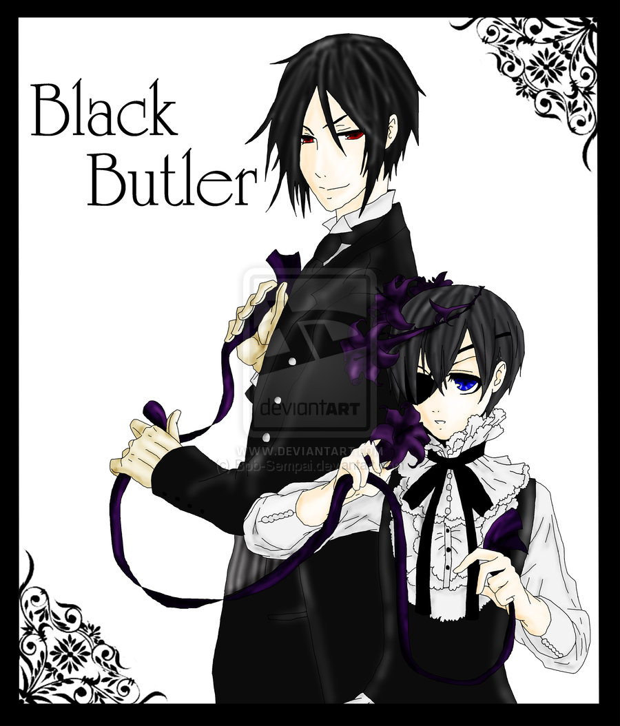 If You Have Been To An Anime Convention Youll Heard Of This Series Even Never Watched It Why Because Black Butlers Characters Are Being
