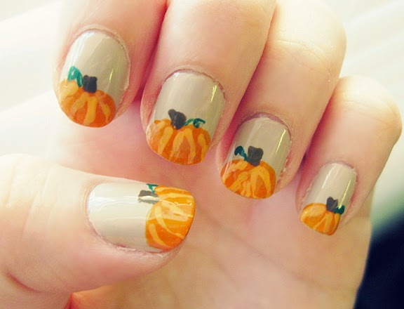Autumn Nail Design 5
